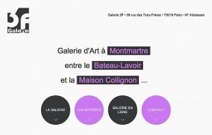 © Galerie 3F – Christian LEROY Graphiste Bretagne Côtes-d'Armor Ploumilliau