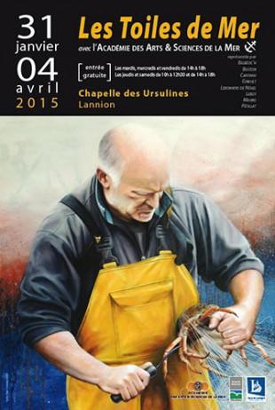 © Lannion expo de l'Académie des Arts et Sciences de la Mer - Christian LEROY Graphiste Bretagne Côtes-d'Armor Ploumilliau
