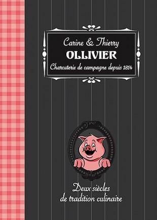 © Charcuterie Ollivier - Christian LEROY Graphiste Bretagne Côtes-d'Armor Ploumilliau