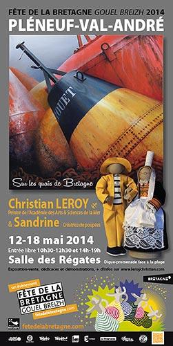 © Pléneuf-Val-André expo Fête de la Bretagne - Christian LEROY Graphiste Bretagne Côtes-d'Armor Ploumilliau