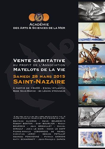 © Saint-Nazaire avec l'Académie des Arts et Sciences de la Mer - Christian LEROY Graphiste Bretagne Côtes-d'Armor Ploumilliau