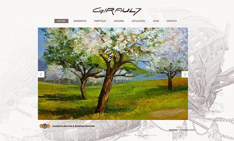 © Daniel GIRAULT site - Christian LEROY D graphiste Bretagne Côtes-d'Armor Ploumilliau