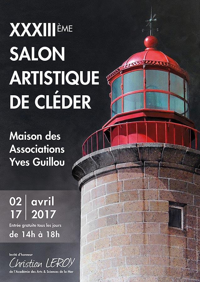 Salon Artistique de Cléder - Affiche 2017 © Christian LEROY