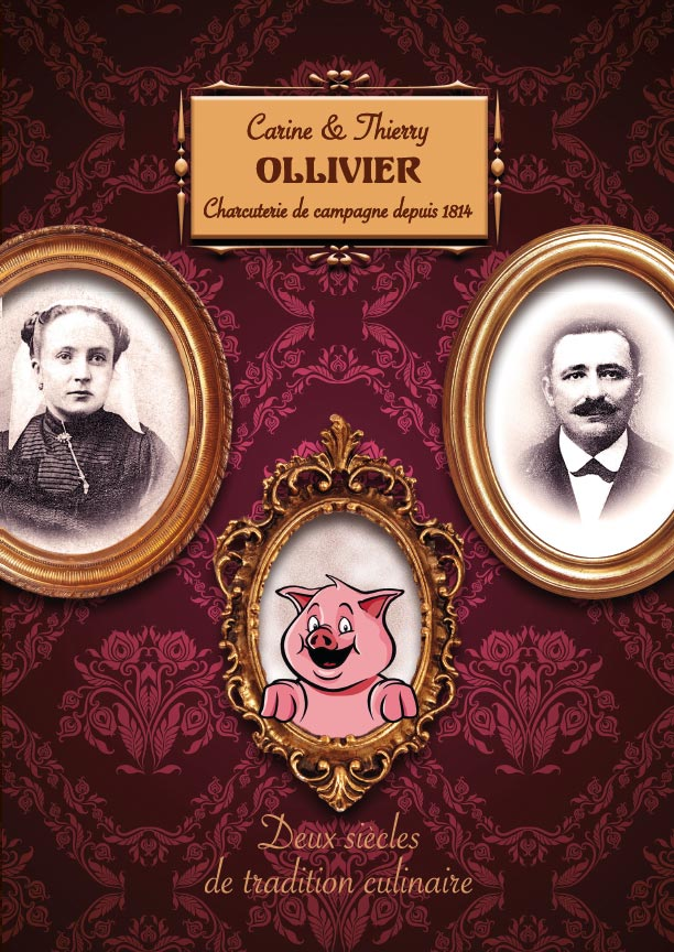 Charcuterie Ollivier depliant 2017