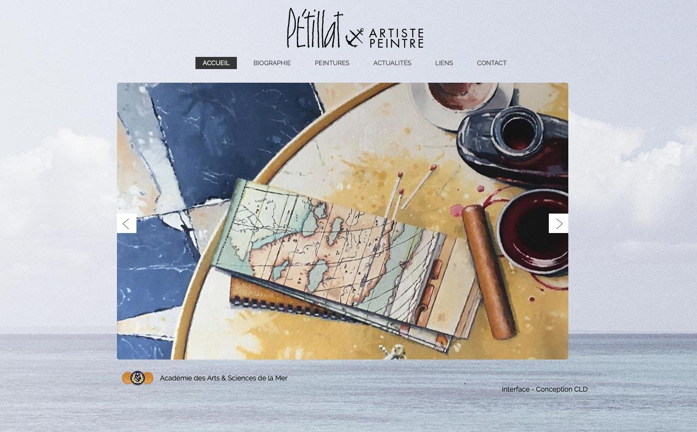 Gerard Petillat site internet