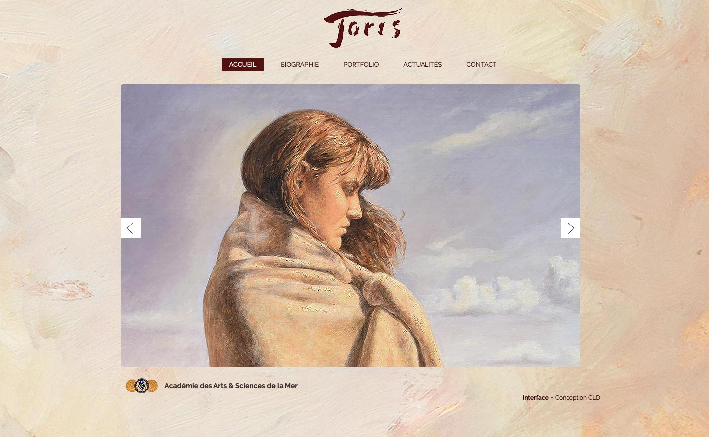 Joris Le Dain site internet