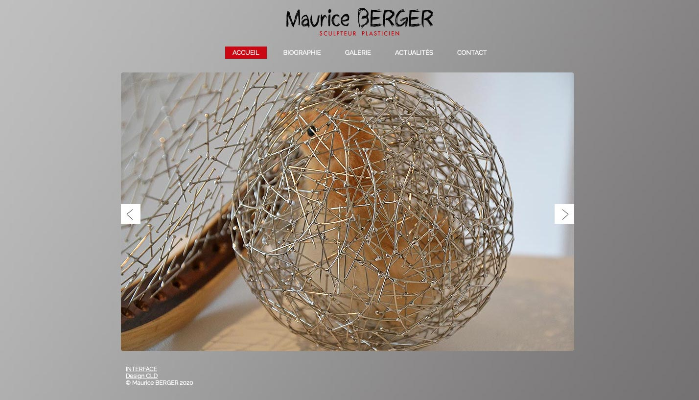 Maurice Berger site internet
