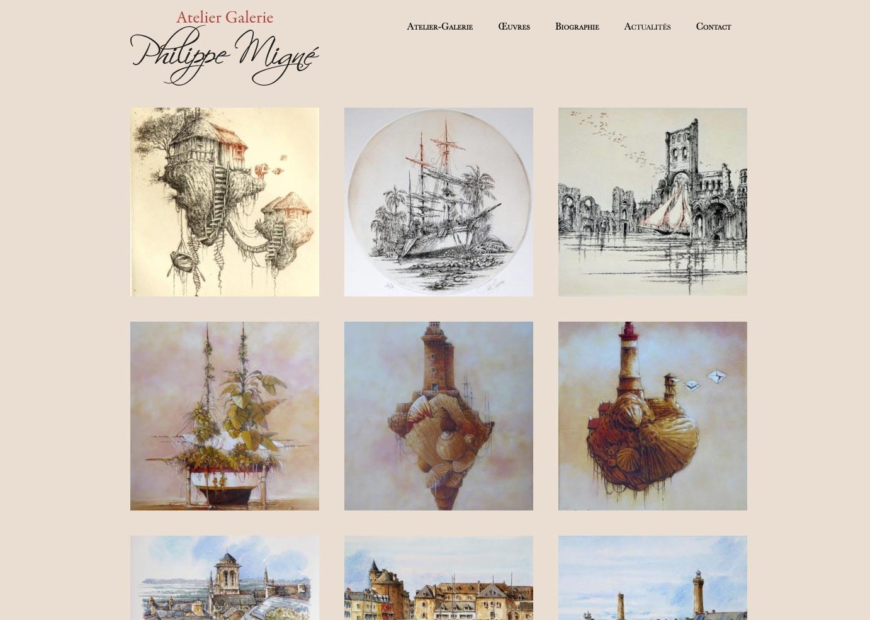 Philippe Migne site internet